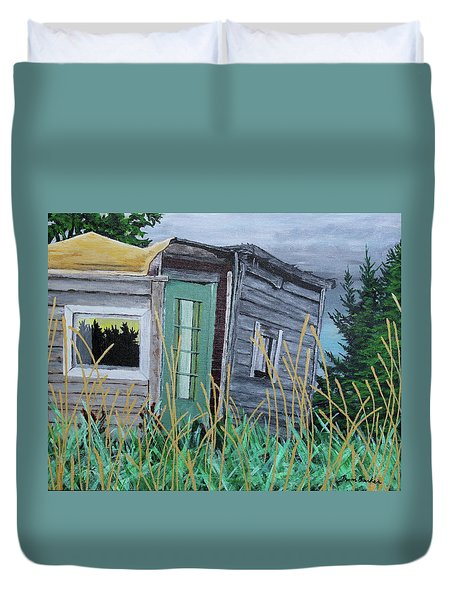Fish Shack Duvet Cover