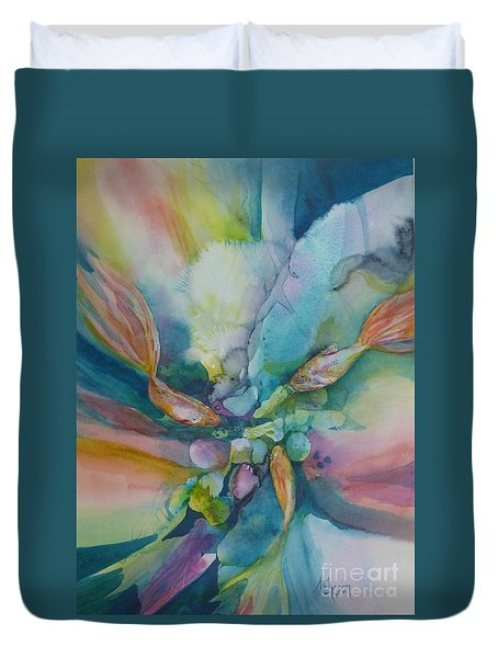 Fish Tales Duvet Cover