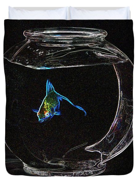 Fishbowl Duvet Cover by Tim Allen