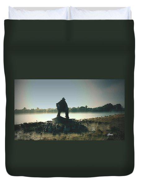 Fisherman Memorial Duvet Cover