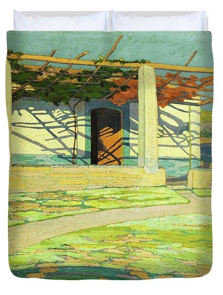Fisherman's House, Puerta Pollensa Duvet Cover