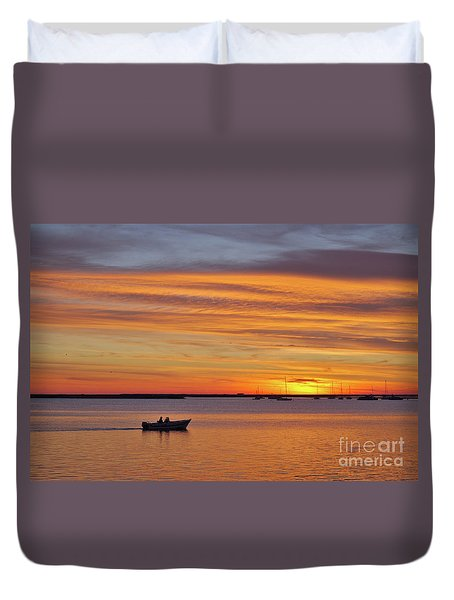 Fisherman's Return Duvet Cover