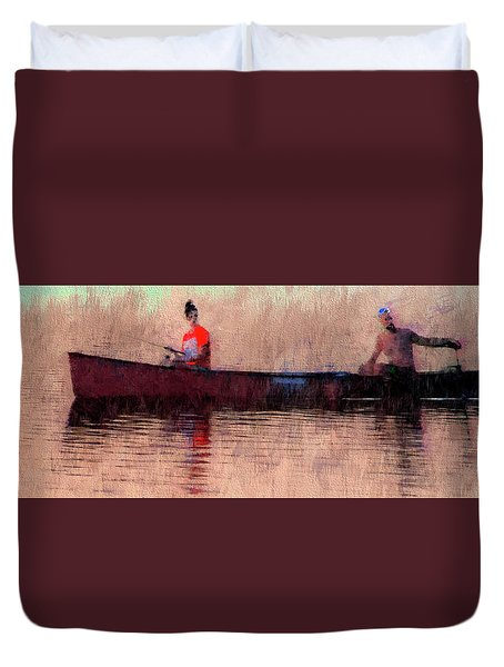 Fisherman Duvet Cover