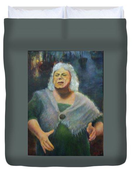 Fisherwoman Duvet Cover