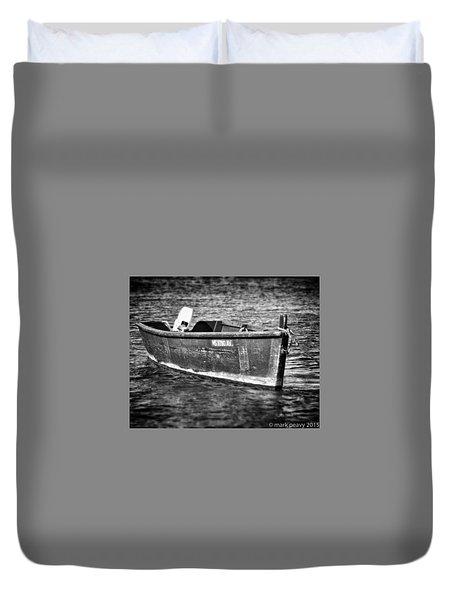 Fishing Boat Cape Cod Duvet Cover