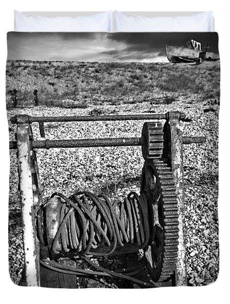 Fishing Boat Graveyard 8 Duvet Cover