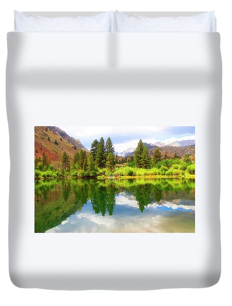 Fishing Intake 2 Duvet Cover