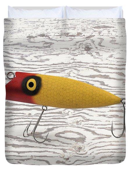 Fishing Lure Duvet Cover