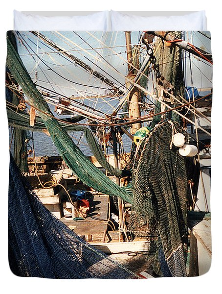 Fishing Nets Duvet Cover