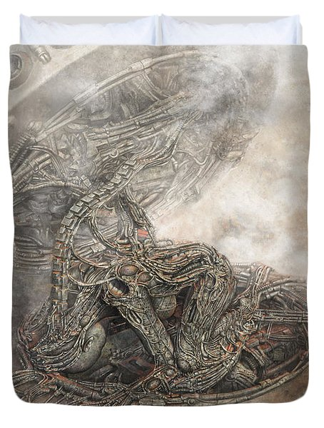 Fit Into The System Duvet Cover