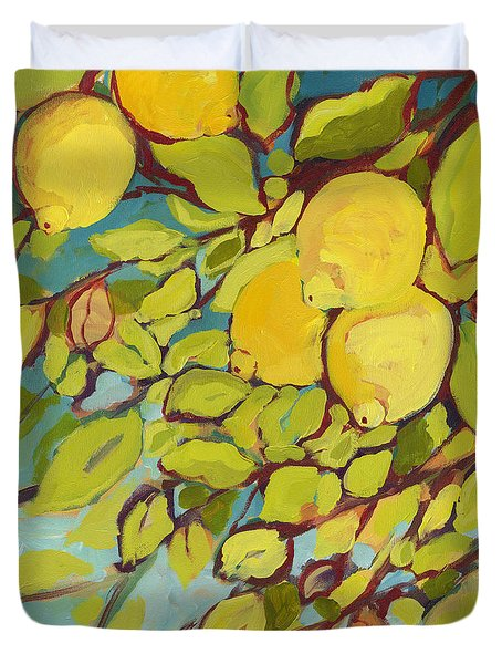 Five Lemons Duvet Cover
