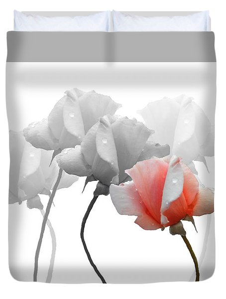 Five Roses Duvet Cover