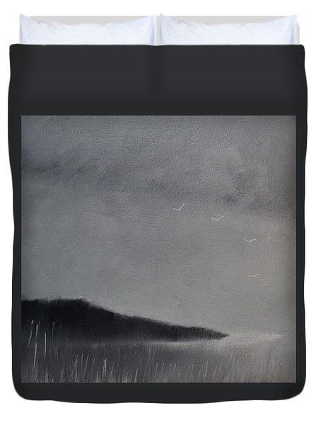 Fjord Landscape Duvet Cover