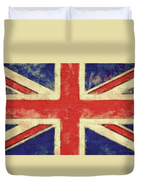Flag Of The United Kingdom Duvet Cover