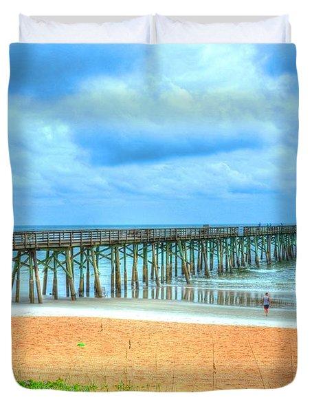 Flagler Beach Duvet Cover