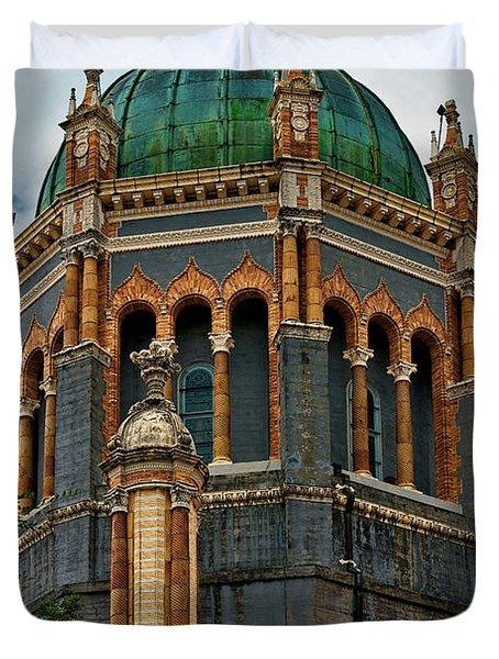Flagler Memorial Presbyterian Church 3 Duvet Cover by Christopher Holmes