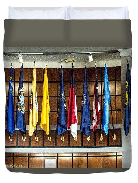 Flags 2 Duvet Cover