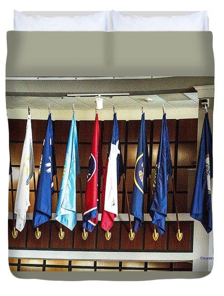 Flags 3 Duvet Cover