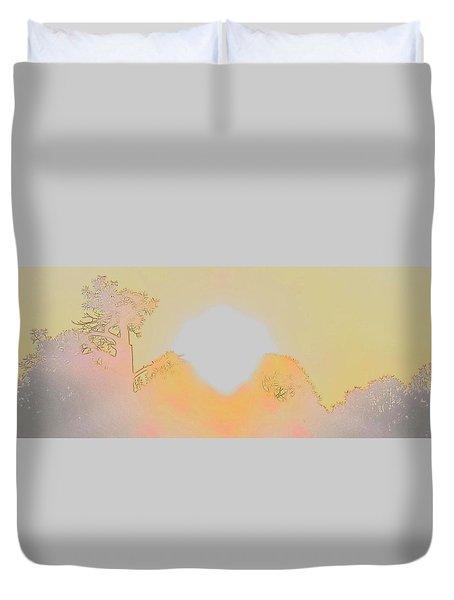 Flagstaff Dawn Duvet Cover