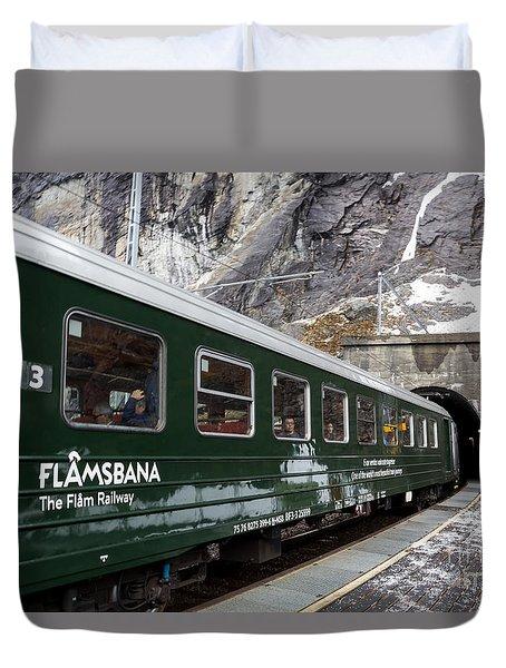 Flam Railway Duvet Cover