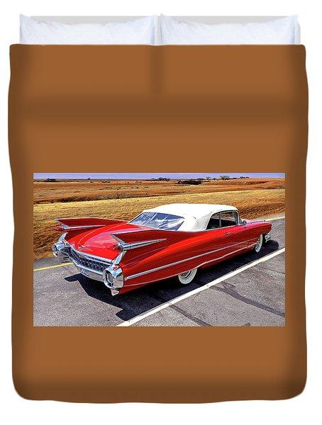 Flamboyant Fifty-nine Duvet Cover