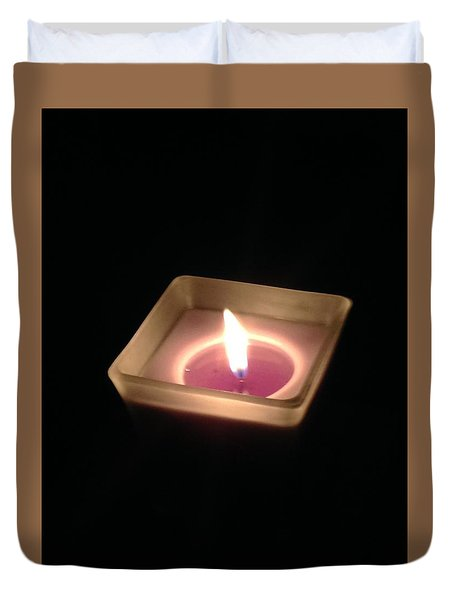 Flame Of Life Duvet Cover