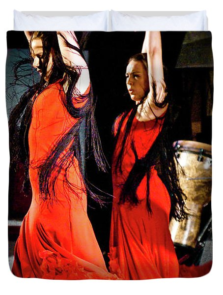 Flamenco 38 Duvet Cover