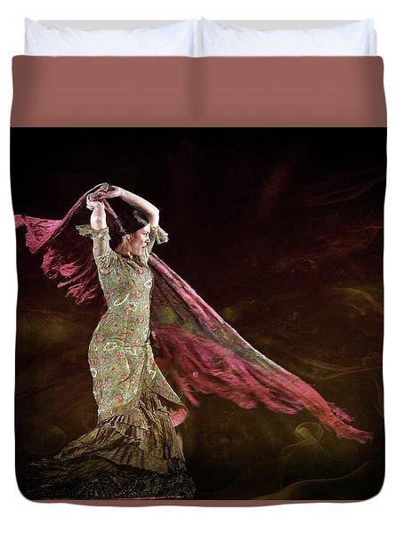 Flamenco Nomada  Duvet Cover