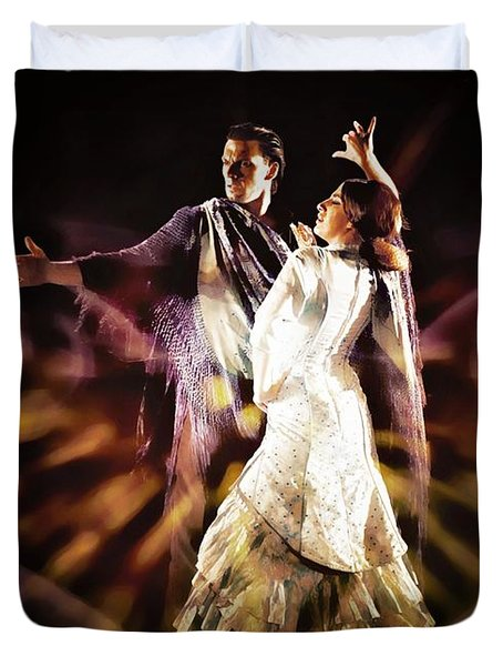 Flamenco Performance Duvet Cover