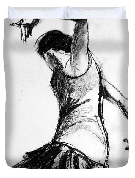 Flamenco Sketch 2 Duvet Cover