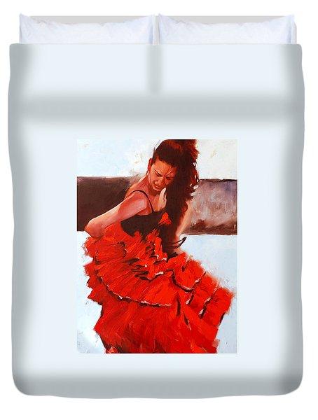 Flamenko #24 Duvet Cover