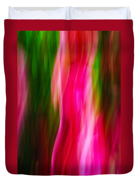Flames Of Passion Duvet Cover