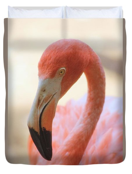 Flamingo 2 Duvet Cover