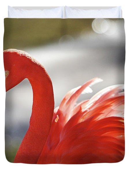 Flamingo 2 Duvet Cover