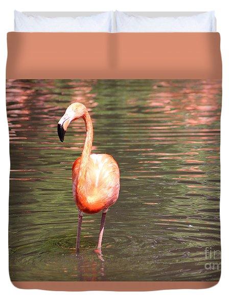 Flamingo 3 Duvet Cover