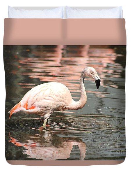 Flamingo 4 Duvet Cover