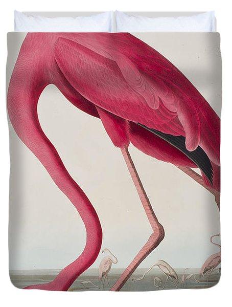 Flamingo Duvet Cover by John James Audubon