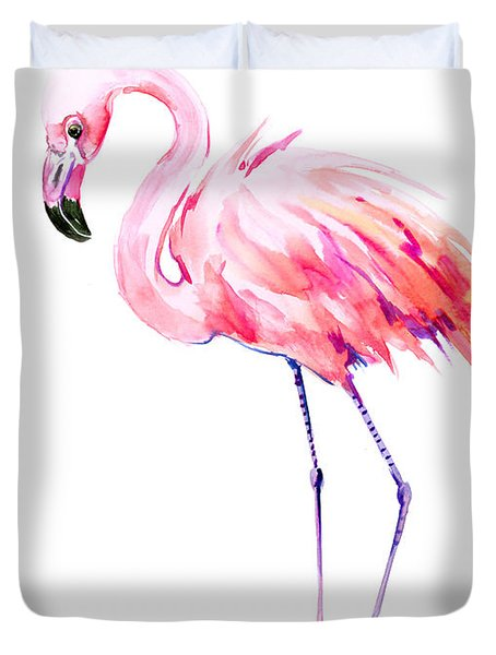 Flamingo Duvet Cover