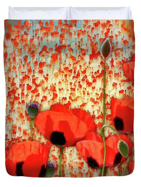 Flanders Fields Duvet Cover
