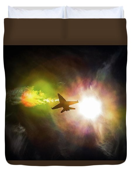 Flare For The Dramatic Duvet Cover