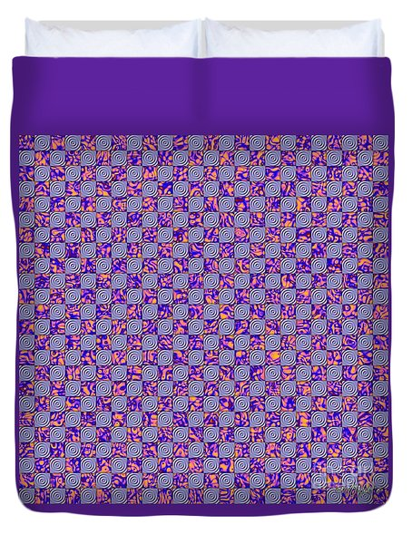 Flares, Squares And Ripples 4 Duvet Cover
