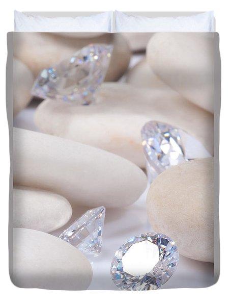 Flashing Diamond Duvet Cover