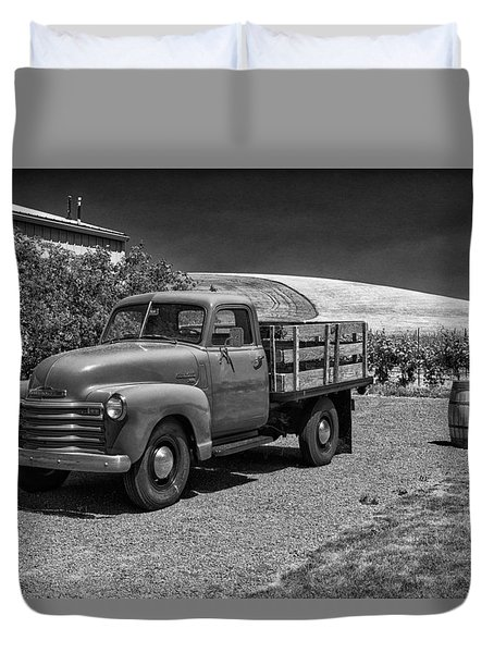Flat Bed Chevrolet Truck Dsc05135 Duvet Cover