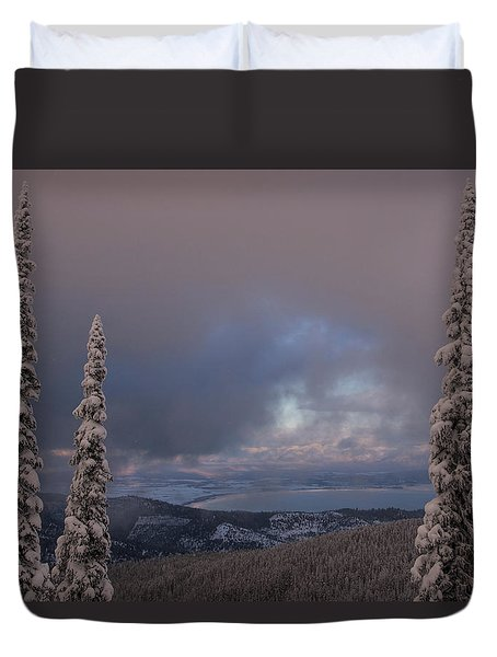 Flathead Winter 2016 Duvet Cover