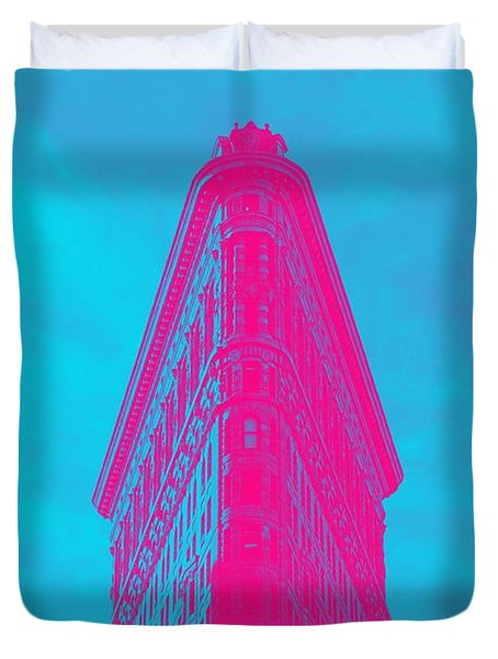 Flatiron Building, New York, United States 1 Duvet Cover