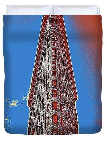 Flatiron Building, New York, United States 3 Duvet Cover