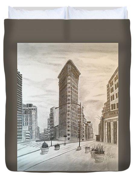 Flatiron Study Duvet Cover by Tony Clark