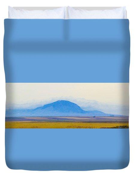 Flatlands Duvet Cover by Susan Crossman Buscho