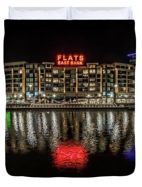 Flats East Bank Duvet Cover