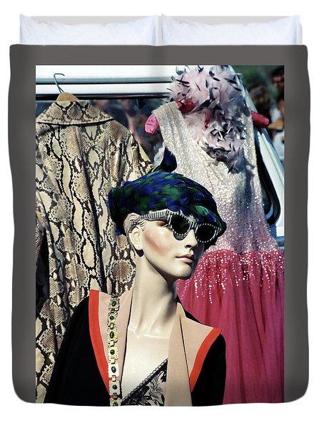 Flea Market Style Duvet Cover